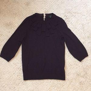 Ann Taylor Eggplant Sweater